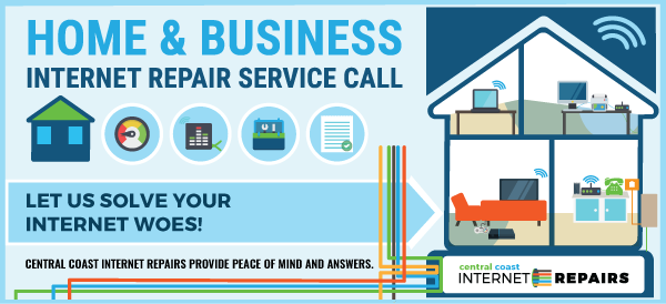 IR home and business internet service repair call