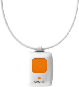 SOS pendant with emergency push button