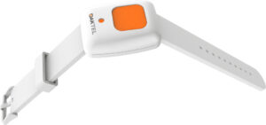 SOS watch with emergency push button